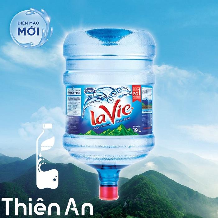 nước khoáng Lavie 19 lít